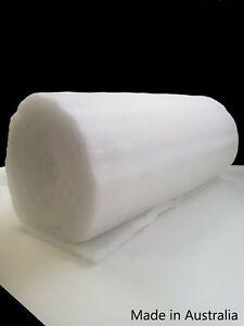 Polyester Wadding Dacron 150cm wide 100/200/250/300 Gram Options Batting AusMade
