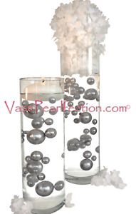 """Pearls Jumbo & Assorted Sizes- """"Floating"""" Option- Vase Decorations-Table Scatter"""