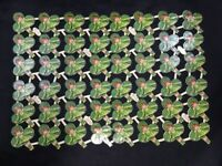 48 Shamrock Clover Leaf Irish Girls Vintage 1930s K&L Uncut Sheet St. Patricks