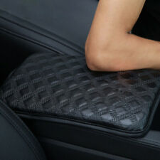 Car Auto Soft Leather Armrest Pad Center Console Box Cover Cushion Accessories
