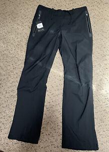 Women's Nike Golf Hypershield Waterproof Rain Wind Pants Black Size Large $190