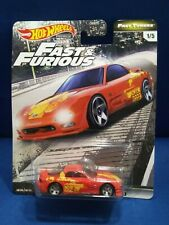 HOT WHEELS PREMIUM FAST & FURIOUS MAZDA RX-7 FD REAL RIDERS FAST TUNERS #1/5 NEW