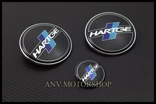 HOOD TRUNK EMBLEM BADGE FOR BMW HARTGE E30 E36 M3 E60 M5 E63 E65 E66 Z3 Z4 X5 X3