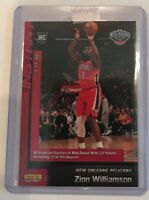 2019-20 Panini Instant NBA #76 ZION WILLIAMSON Pelicans Rookie RC NBA Debut