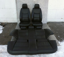 BMW 3 SERIES E90 Black Leather Interior Seats with Airbag
