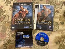 Spartan: Total Warrior (Nintendo GameCube, 2005) Complete In Box !!