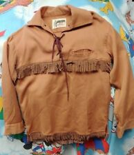 1950's  Davy Crockett Age 12 Original Vintage Shirt Made By Tom Sawyer Very Rare