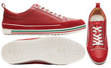 Duca Del Cosma Monterosso Spikeless Golf Shoes - RRP£140 - ALL SIZES - Red Blue