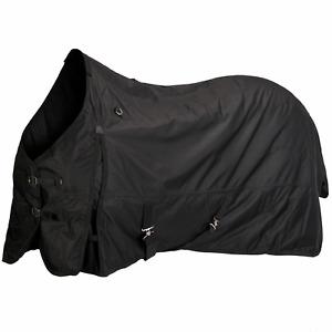 Couverture imperméable équitation Imper 200 600D noir 105cm neuf