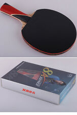 BOXED decent high end carbon Table Tennis racket ping pong paddle blade 8A-C. FL