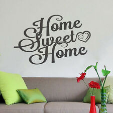 Sweet Home Wall Decor Vinyl Sticker Decal Livingroom Nursery Children Mural Art