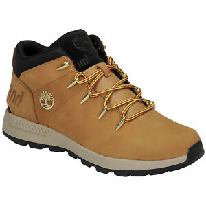 Timberland Mens Boots Sprint Trekker Mid Lace-up Ankle Outdoor Nubuck