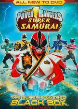 Power Rangers Super Samurai - The Super Powered Black Box. Vol. 1. DVD (2012)