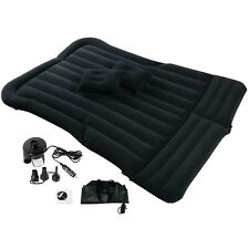 SUV/Car Air Mattress Travel Bed Flocking Inflatable Car Bed for Camping, US