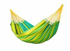 La Siesta Colombian Weatherproof Sonrisa Single Amaca Lime
