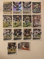 Dallas Cowboys Football Card Lot Ezekiel Elliott Epix Dak Prescott Dominators