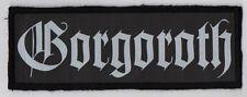 GORGOROTH PATCH / SPEED-THRASH-BLACK-DEATH METAL
