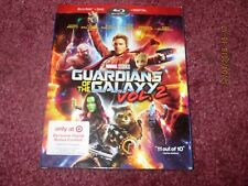GUARDIANS OF THE GALAXY VOL. 2  (Blu-ray + DVD + Digital)  TARGET with Slipcover