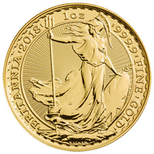 2018 U.K. 100 Pound 1 oz Gold Britannia Brilliant Uncirculated