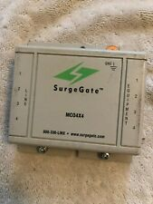 Surgegate Mc04x4 Secondary Telecom Surge Protector 8 Wire Protection
