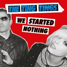 THE TING TINGS - WE STARTED NOTHING   VINYL LP NEW+
