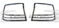 2005-2008 Dodge Charger Tail Light Taillights Chrome Guards Covers- 2Pcs