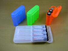 AA AAA AAAA Surefire CR123 CR2 N Cell Battery Case color choice