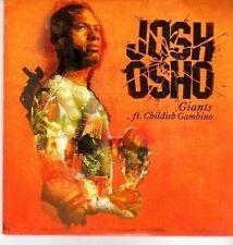 (DA429) Josh Osho, Giants - Ft Childish Gambino - 2011 DJ CD