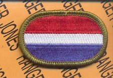 Co E 109th MI Bn LRS Airborne Military Intelligence Ranger para oval patch #2