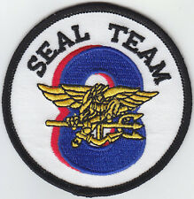 SEAL TEAM EIGHT  (8) U.S. US United States Navy patch USN