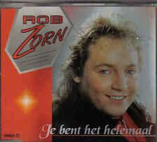 Rob Zorn-Je Bent Het Helemaal cd maxi single