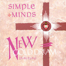 New Gold Dream (81-82-83-84) by Simple Minds (CD, Apr-1992, Virgin)