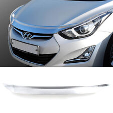 Chrome Bonnet Hood Guard Garnish Molding K893 for HYUNDAI 2011-2016 Elantra /MD
