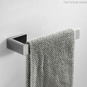 Porta velina in acciaio inox per montaggio a parete portasciugamani argento