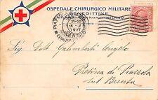 C5169) WW1 CROCE ROSSA MILANO, OSPEDALE CHIRURGICO MILITARE BENEDETTINE. VG.