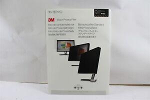 "New 3M PF19.0 19"" 1280x1024 Standard Monitor Black Privacy Filter Screen"