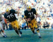 JIM TAYLOR 8X10 PHOTO GREEN BAY PACKERS NFL FOOTBALL GAME ACTION