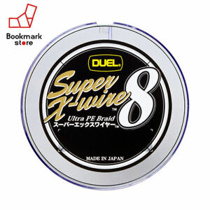 NEW Duel Super X-wire 8 150m 20lb #1.0 Multicolor 0.17mm 8 Braid PE Line Japan