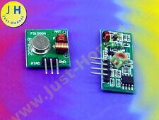Sender & Empfänger 433MHz Transmitter Receiver FS1000A Arduino Raspberry #A1831