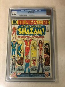 Shazam #12 CGC 9.6 NM+ Captain Marvel 1974 DC 100 PAGE ISSUE WHTE PAGE