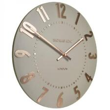 NEW Thomas Kent Mulberry Wall Clock, Rose Gold, 50cm