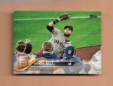 2018 TOPPS BRANDON BELT BASEBALL CARD #210 - SAN FRANCISCO GIANTS!
