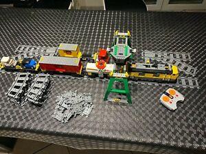 Lego City Train de marchandises avec locomotive télécommandé Set Complet 7939