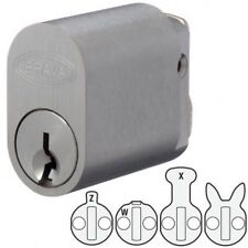BRAVA Quality 570 Style Oval Lock Cylinder-Suits Lockwood,Legge,Dorma-Free Post