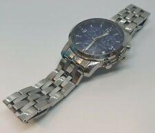 Tissot PRC200 Chronograph T461 Men's Blue Faced Watch