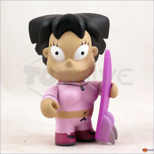 Kidrobot Futurama series 2 Amy Wong w/ hoverboard 3-inch vinyl figure displayed