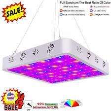 V99GROW 1000W LED Grow Light Panel Lamp Full Spectrum Hydroponic Plant Growing G