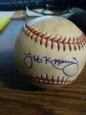 JEFF KEPPINGER SIGNED OFFICIAL MLB BASEBALL AUTOGRAPH PRACTICE BALL REDS