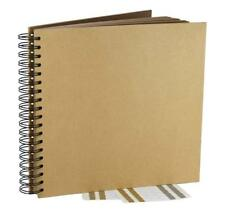 Kraft Guest Book Photo Booth Album Spiral Scrapbook Wedding Party 40 Sheets