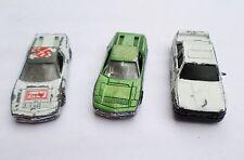 Modèle 3 voitures idéal restauration etc libre p&p à UK 1 Looks BMW 2 A Chrome sièges